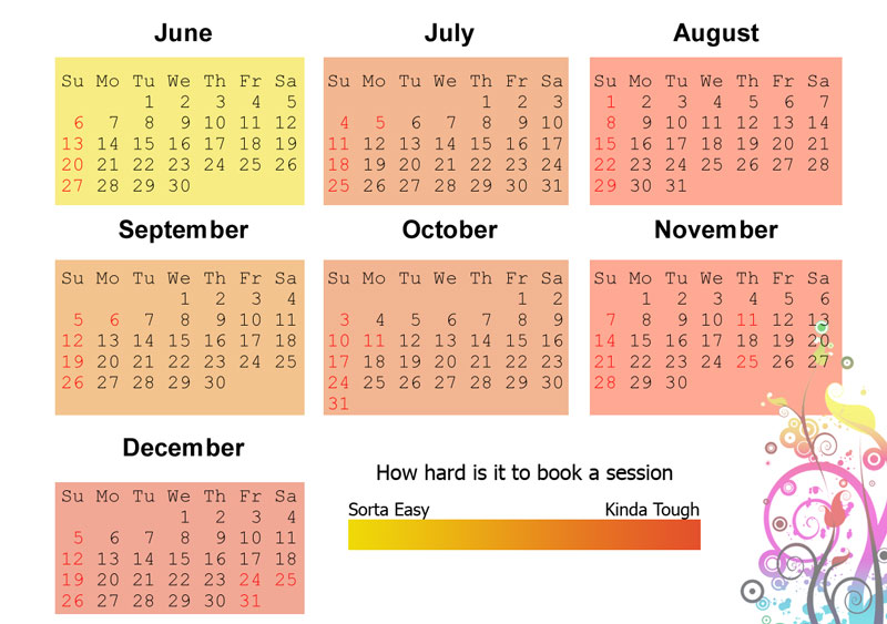 When to book Your Session